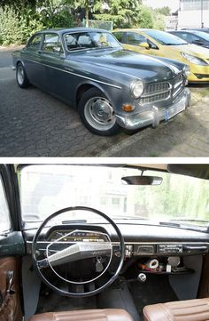 Volvo Amazon - grey / brown Volvo Amazon, Retro Cars, Vintage Cars, Good Old Times, Volvo Cars, Import Cars, Hot Cars, Motor Car, Cars And Motorcycles
