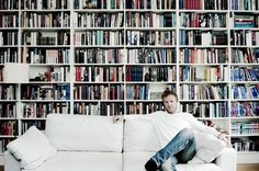 I am addicted to Scandinavian crime novels!  If you love Stieg Larsson, check out Jo Nesbo (pictured) and Henning Mankell.