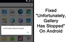 """How To #Fix """"#Unfortunately, #Gallery Has #Stopped"""" On #Android. 1: #Restart Android. 2: Clear #Cache And #Data Of Gallery & #Camera #App...7: Enter Into #SafeMode. 8: Wipe Cache Partition In #RecoveryMode.Try #AndroidRepair. Types Of Android, Settings App, Data Recovery, Sd Card, Messages, Gallery, Roof Rack, Texting, Text Posts"""