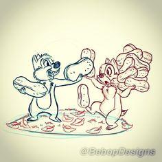 Disney art by Keith Fulmis