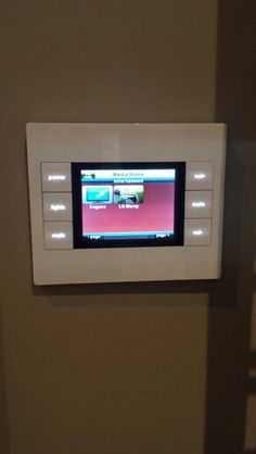 In wall audio control