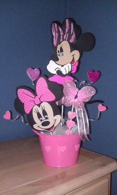 Minnie Mouse Center piece for any little girls party