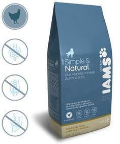 Iams Natural Dog Food Packaging #pet #food #packaging for more information visit us at www.coffeebags.co.za