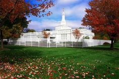 Columbus Ohio Mormon Temple. © William French. All rights reserved.
