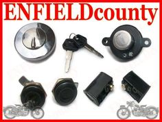 COMMON KEY LOCK SET 521153/A FOR ROYAL ENFIELD THUNDER BIRD