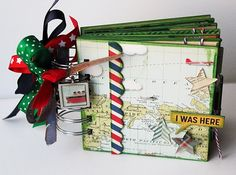 Sept 2011 Love this mini by Jennifer Priest! Featuring the new Square Charms and Star Tools!
