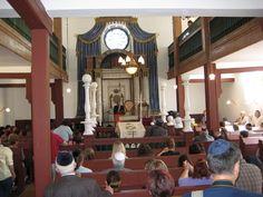 Kiskunhalas synagogue interior