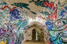 Herbert Bagliones latest 1000 Shadows installation in Niort, France