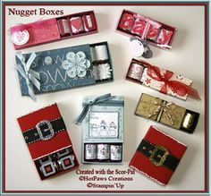 Nugget Boxes..... @Danielle Lampert Lampert Lampert Tillmes Dean I want to make Nugget Boxes!!!!!