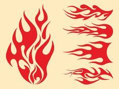 Flames Graphics Set