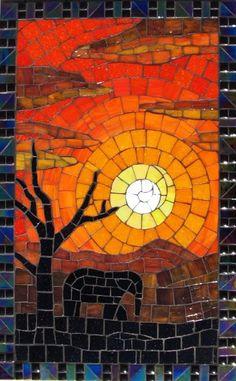 Bushveld Sunset, Sylvia Bouwer INT