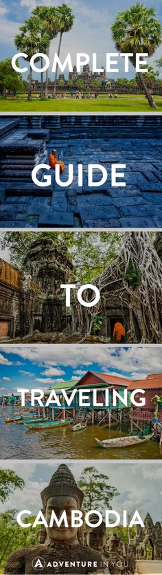 Planning a trip to Cambodia? Here is everything you need to know about planning your trip. From where to go in Cambodia, what to do, what to eat, and even where to stay! Cambodia Travel, Vietnam Travel, Asia Travel, Vietnam Map, Laos, Angkor Wat, Phuket, Koh Rong Samloem, Places To Travel