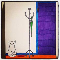 Un deuxième ! Me voilà maintenant avec une série :) Mon chat imaginaire #2