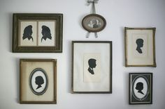 traditional silhouettes