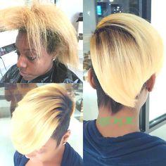 Razor Chic Of Atlanta Hairstyles Really Pretty Black Girls With Short Hair  Black Short Hairstyles