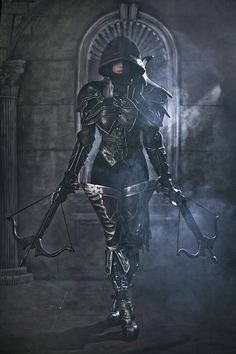[Freaky Fashion] I Wouldn't Want To Cross Paths With This Demon Hunter -