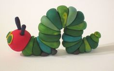 The Very Hungry Caterpillar cake topper