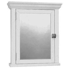 Special Offers - Zenith MC10WW Early American Medicine Cabinet White For  Sale - In stock u0026