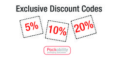 Exclusive discount codes on all packaging!! Keep up to date and bookmark this page!