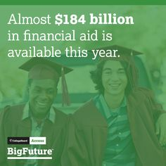How to Find Free Money for College // Start with the FAFSA to find all of the financial aid that is out there. www.fafsa.gov