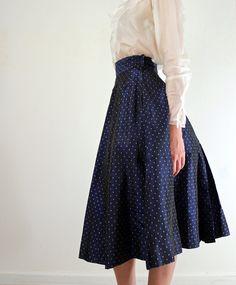 Rockabilly 1950s Circle Skirt