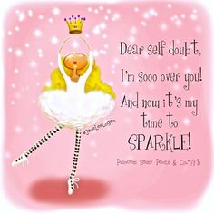 It's my time to sparkle