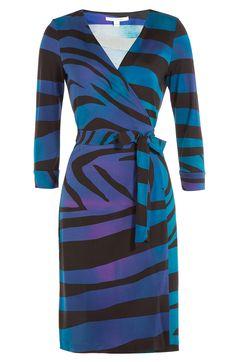 DIANE VON FURSTENBERG Silk-Jersey Wrap Dress. #dianevonfurstenberg #cloth #day dresses