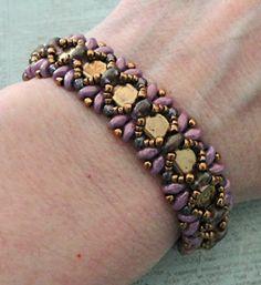 Linda's Crafty Inspirations: Bracelet of the Day: Dragonfly - Chalk Vega