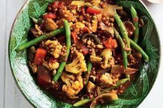 Vegetable & Lentil Curry
