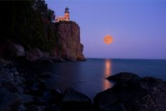 A warmer view of Split Rock Lighthouse, Two Harbors, Lake Superior MN.  Google Image Result for http://thumbs.imagekind.com/member/46184ec8-9108-486f-8eba-bf1af4f727bd/uploadedartwork/650X650/94f6ce49-f050-48ca-bee4-c59dbe2acb27.jpg