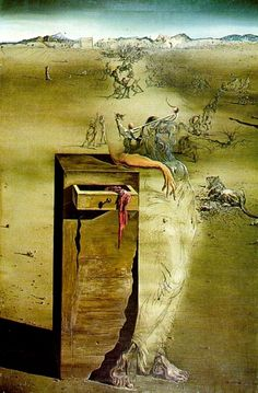 Spain, Oil by Salvador Dali (1904-1989, Spain)