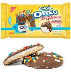 Oreo Birthday Cake Fudge Cremes- Las Oreo tienen fama por ser simplemente irresistibles, todo ser humano que las ha probado sabe que no hay galleta que combine también el chocolate con ese relleno cremoso. A lo largo de su historia, estas galletas han tenido diversas ediciones lím