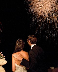 A five-minute fireworks display, set to a soundtrack of Italian opera music, lit up Lake Como