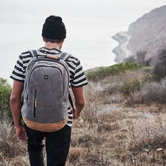 The Stratton backpack and the road ahead. Photography @kaneskennar. #banksjournal #everydayjourneys