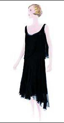 Coco Chanel--1920s little black dress