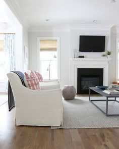 LIKE THE WOOD FLOORS! The Midway House: Family Room — STUDIO MCGEE