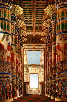 Ancient Egypt Fashion, Ancient Egypt Art, Ancient Artifacts, Ancient History, Egyptian Temple, Luxor Temple, Egyptian Art, Visit Egypt, Sacred Architecture
