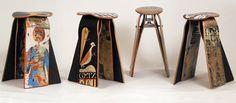 Skateboard stools