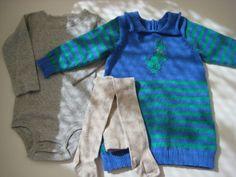 Vestidos tejidos para usar con pantys