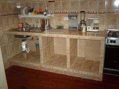 Modelos de gabinetes de cocina en concreto imagui for Cocinas de mamposteria
