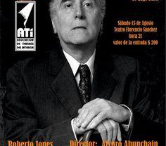Roberto Jones encarna a Borges