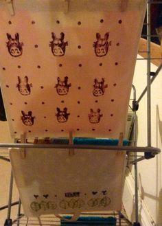Lino printing bags