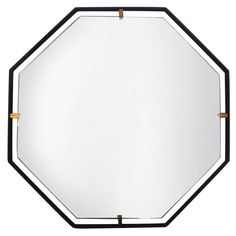Trousdale Hexagonal Mirror by Orange Los Angeles For Sale at 1stdibs