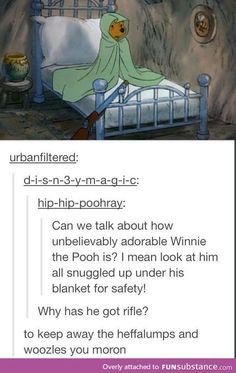 I think of winnie the pooh as the Luna Lovegood of Disney ❤ Disney Love, Disney Magic, Disney And Dreamworks, Disney Pixar, Disney Animation, Tumblr Funny, Funny Memes, The Big Hero, Haha