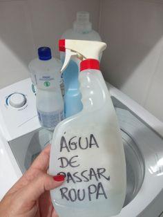 RECEITA DE ÁGUA DE PASSAR ROUPA - PASSE FÁCIL CASEIRO