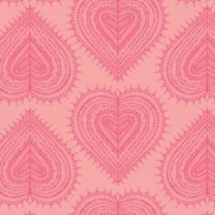 Jane Farnham - Love Letters - Hearts in Pink
