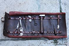 Thief leather kit LARP by MeoLeathercraft on Etsy