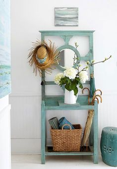 Seaside Cottage - lookslikewhite Blog - lookslikewhite ...should I keep mine and paint it like this???