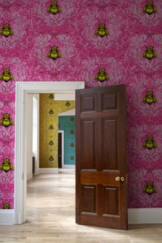 New wallpaper designs from Timorous Beasties