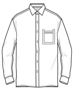 Flat Drawings, Flat Sketches, Fashion Design Portfolio, Fashion Design Sketches, Fashion Design Template, Pattern Fashion, Fashion Terminology, Croquis Fashion, Evolution T Shirt